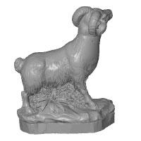 Sculpture Be scan