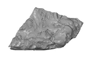 Sculpture maillage Be scan