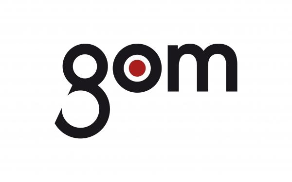Gom logo 3D